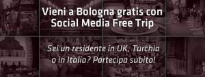 a bologna gratis con socialmediafreetrip