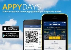 app ryanair per iOS e Android