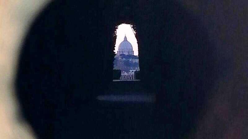 buco serratura roma priorato malta aventino