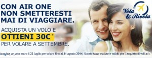 buono sconto air one estate 2014
