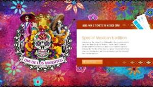 concorso KLM per vincere voli per il Messico