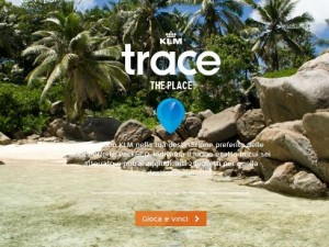 concorso klm trace the place