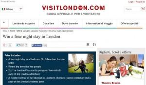 concorso visit london
