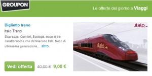groupon italo treno
