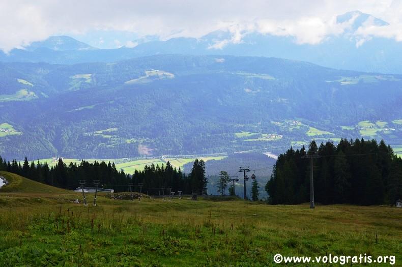panorama da malga tressdorfer alm