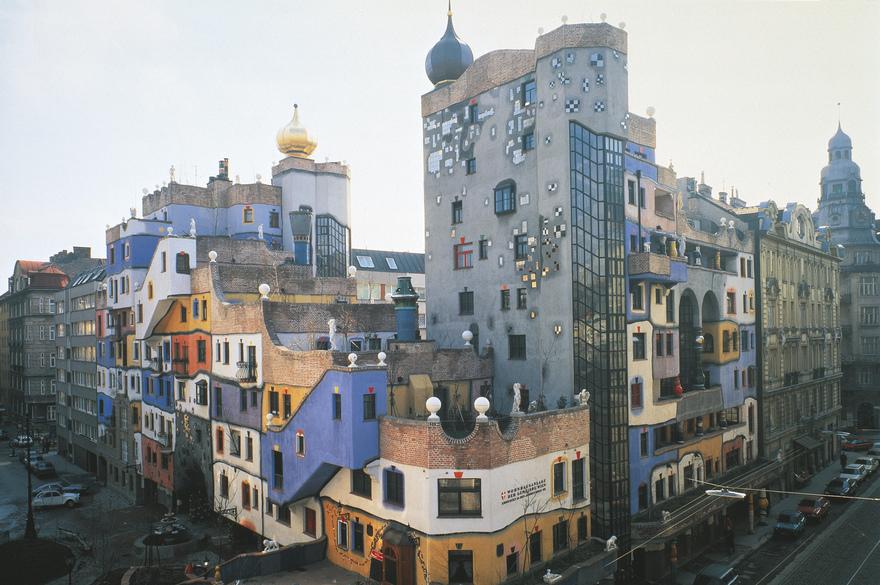 Hundertwasserhaus da visitare gratis a vienna