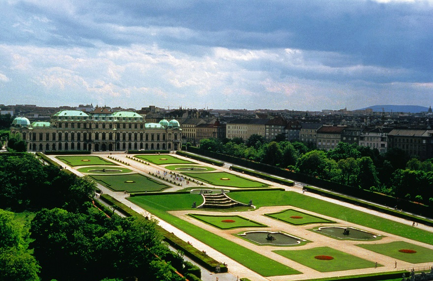 palazzo del belvedere vienna