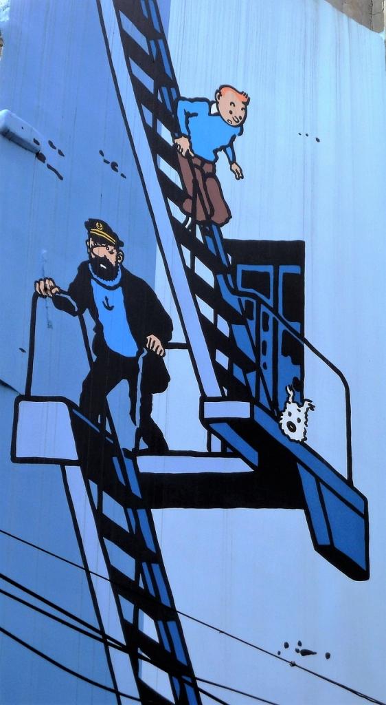 fumetti Bruxelles itinerario