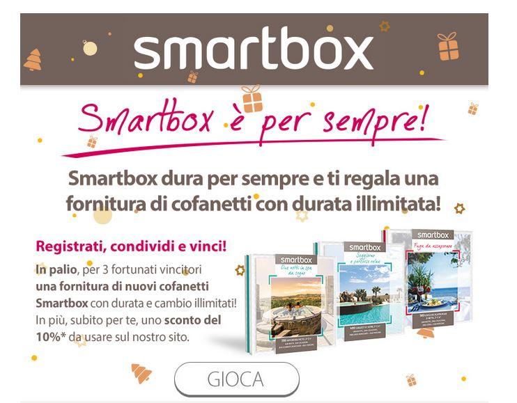 Concorso Smartbox per vincere una fornitura di cofanetti ...