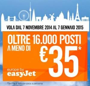 promozione easyjet