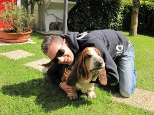 andrea e bryan bassethound
