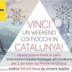 Concorso Catalunya Experience per vincere un weekend sulla neve in Spagna