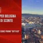 Codice sconto Italo treno per viaggi da e per Bologna