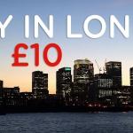 Tune Hotels: camere doppie a Londra a soli £ 10 (€ 13,30)