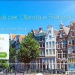 Voli per Amsterdam e per Parigi da € 25