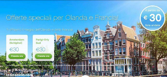 Voli per amsterdam e per parigi da 25 for Voli low cost amsterdam