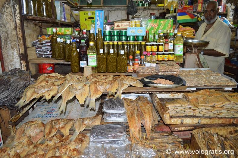 vacanza a mauritius mercato di port louis