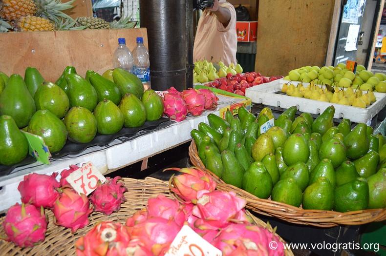 viaggio a mauritius mercato port louis
