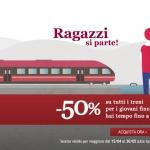 Italo treno: 50% di sconto per gli under 30