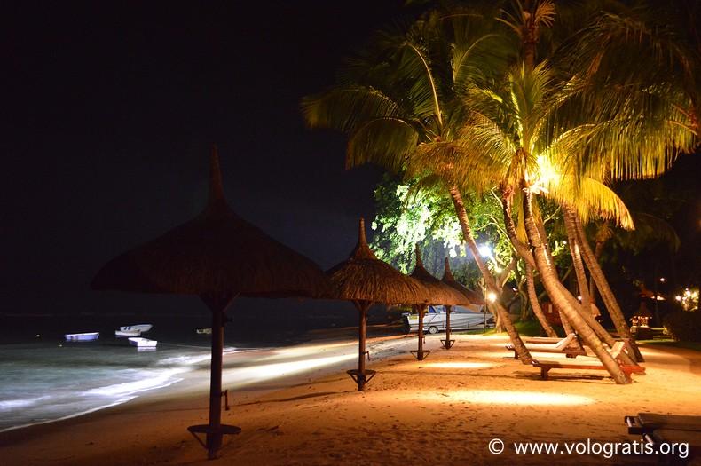 viaggio a mauritius notte