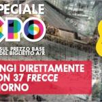 Biglietti Trenitalia per EXPO 2015 scontati del 30%