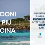 Traghetti Moby per la Sardegna scontati per chi prenota una vacanza a Budoni