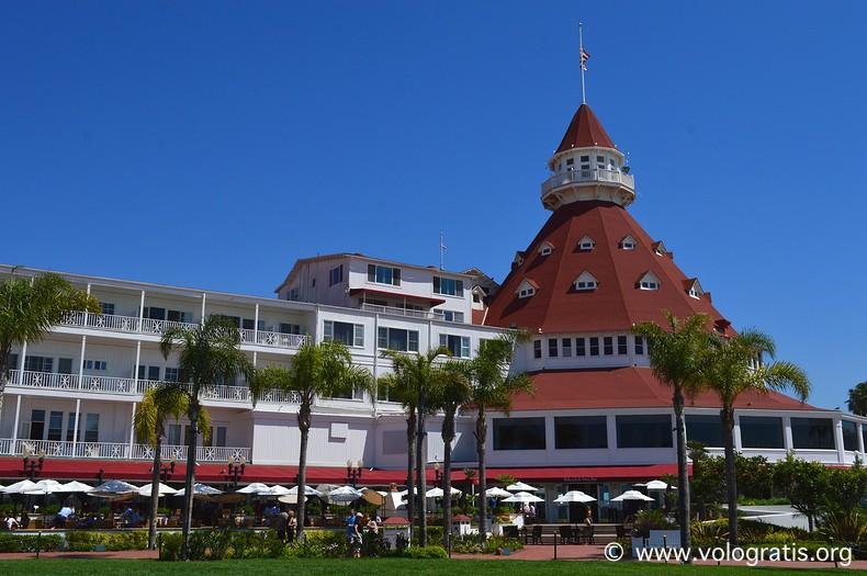 hotel del coronado diario di viaggio a san diego