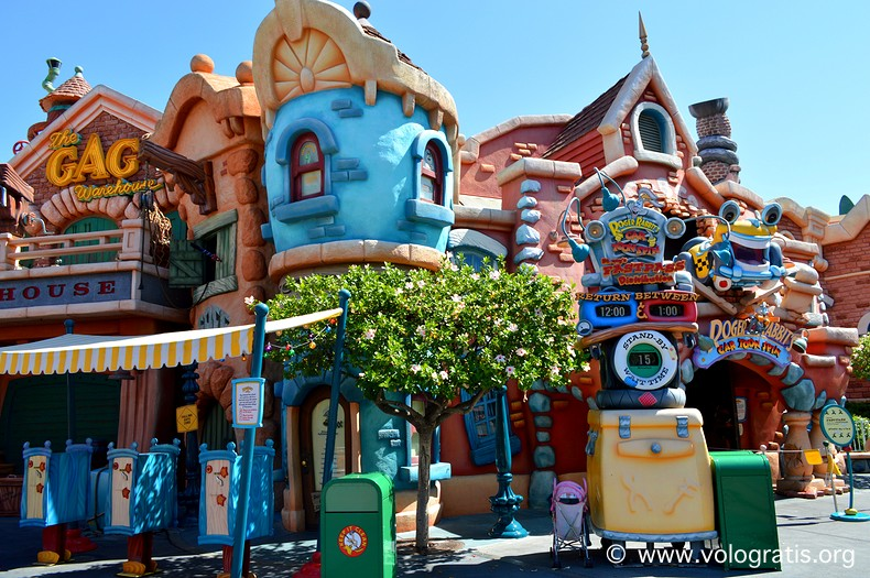mickeys toontown disneyland