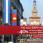 Treni Italo per Expo 2015 scontati del 40%