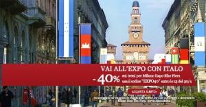 treni Italo per l'expo