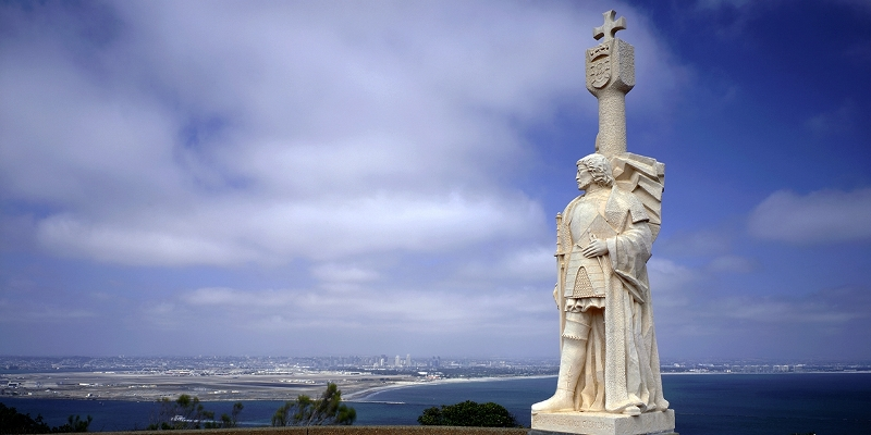 Cabrillo National Monument da vedere a san diego