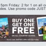 Guide Lonely Planet: ne compri una e l'altra è gratis