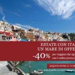 Per l'estate treni Italo scontati del 40%