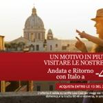 Biglietti Italo per l'estate scontati del 40%