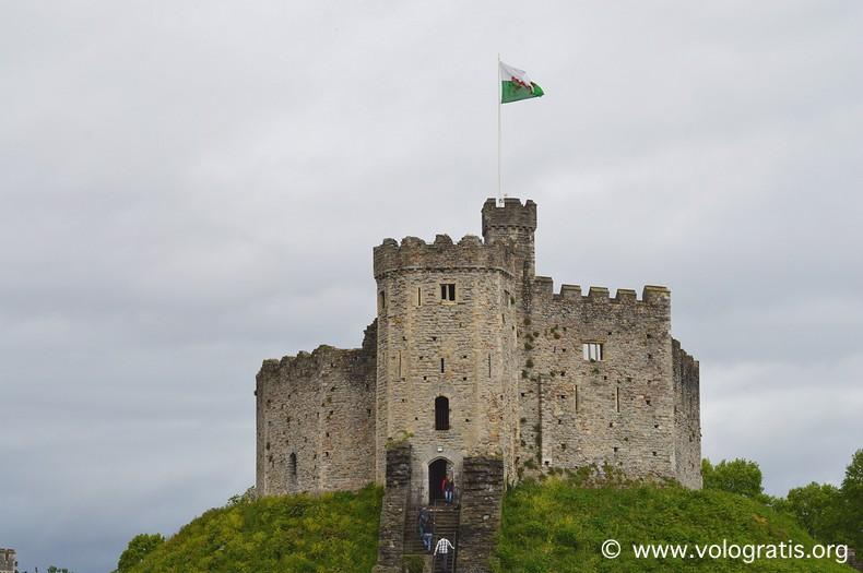 viaggio a cardiff cardiff castle