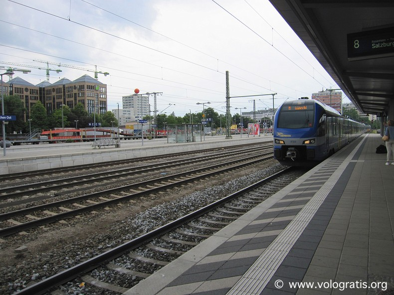 treno per raggiungere salisburgo da monaco