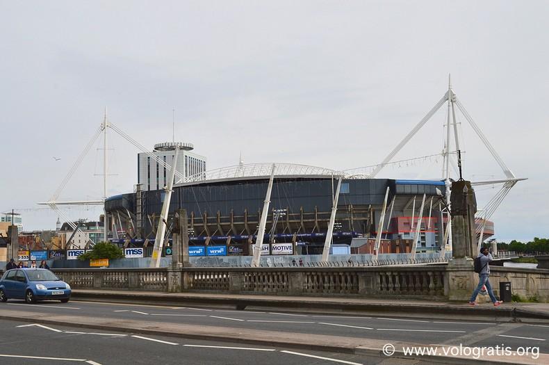 diario di viaggio a cardiff millennium stadium