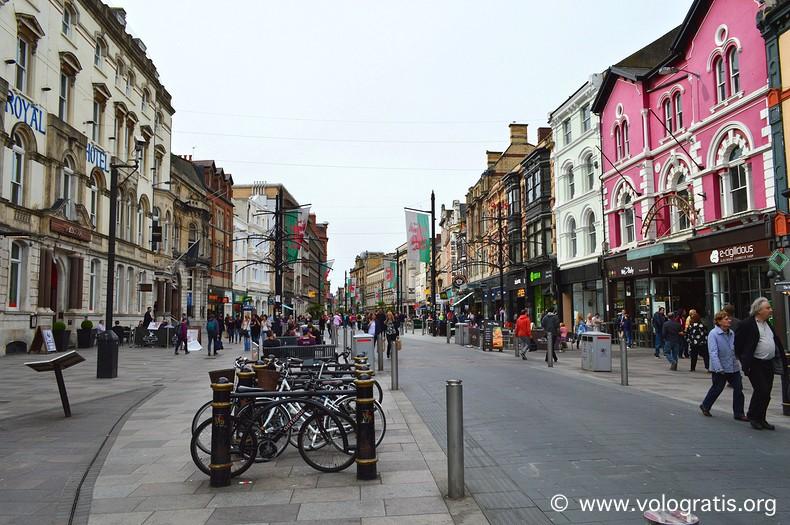 diario di viaggio a cardiff st mary street