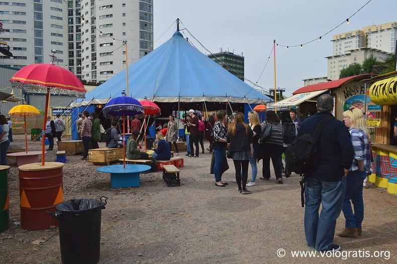 diario di viaggio a cardiff street food circus galles