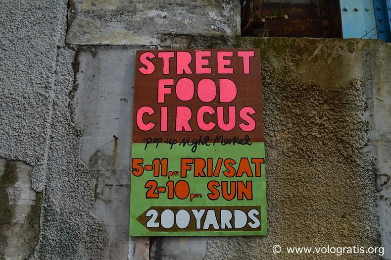 diario di viaggio a cardiff stree food circus
