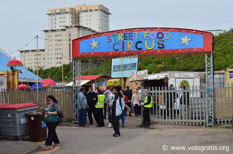 diario viaggio cardiff street food circus 2