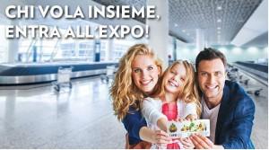 Con Alitalia si entra gratis a EXPO 2015
