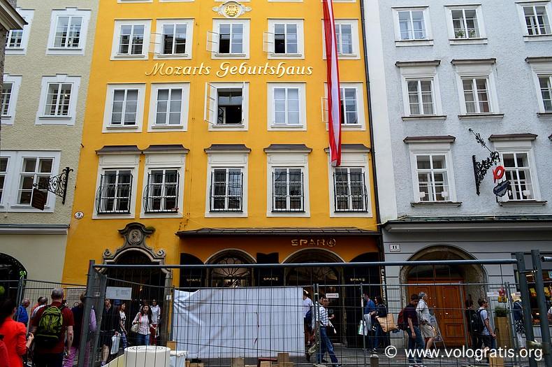 mozarthaus da visitare a salisburgo