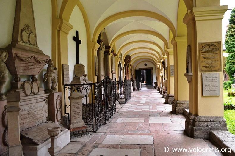 cimitero di san sebastiano salisburgo