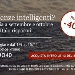 Codice sconto Italo treno per settembre, ottobre e novembre