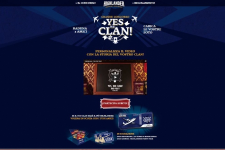 concorso yes we clan con in palio un viaggio in scozia