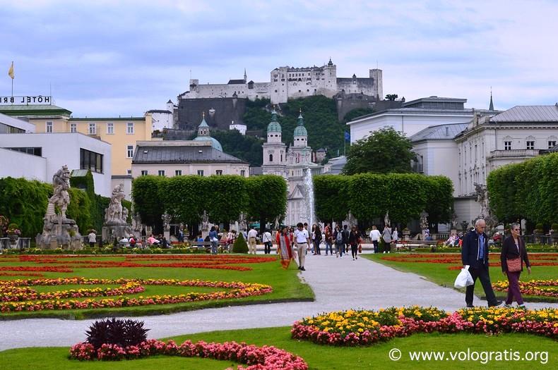 giardini di mirabell da visitare a salisburgo