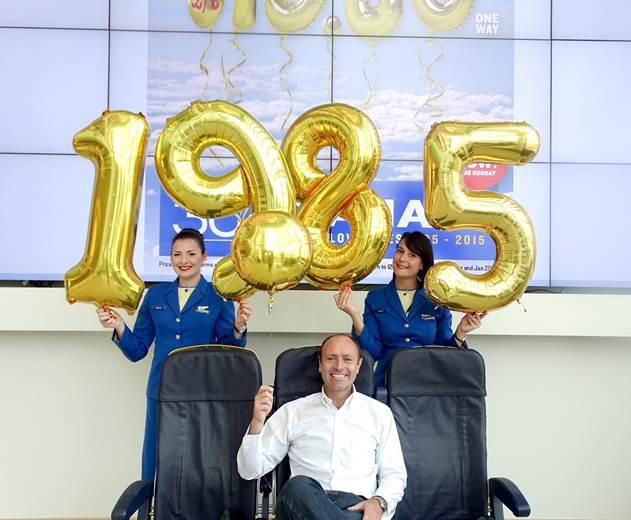 ryanair festeggia i suoi 30 anni con voli a 19,85 euro