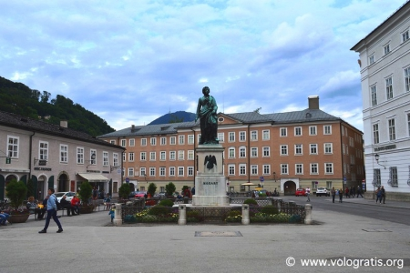 mozartplatz da visitare a salisburgo