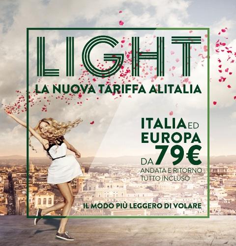 Tariffa light alitalia